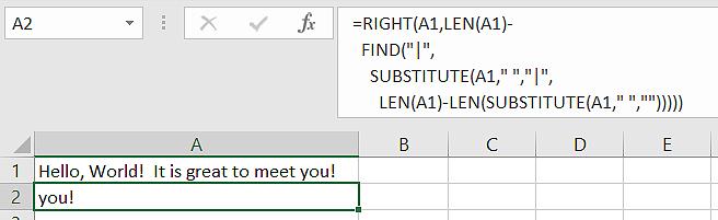 FEEL vs Excel Formulas